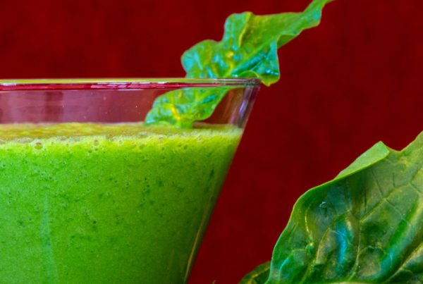 Green tropical smoothie