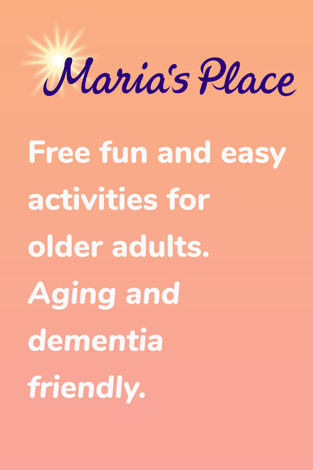 This is an image of Free Printable Activities for Dementia Patients with work